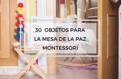 30 objetos para incluir en la mesa de la paz - Tigriteando Montessori Toddler, Maria Montessori, Montessori Activities, Toddler Preschool, Educational Activities, Activities For Kids, Building Classroom Community, Montessori Materials, Yoga For Kids