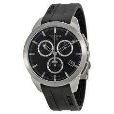 Tissot T-sport Titanium Black Dial Rubber Men's Watch (W-T0694174705100)