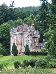 Castle Leod -- seat of the fifth Earl of Cromartie, chieftain of Clan MacKenzie. Scotland