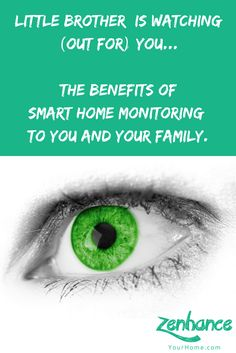 Little Brother is watching (out for) you: smart home monitoring