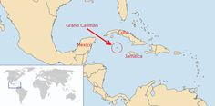 Grand Cayman Map - Where In The World Is This Island Located?