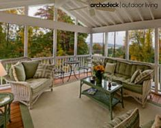 Make the most of a new or existing deck with a screened porch conversion. | The Benefits Of Converting A Deck To A Screened Porch | archadeckwestcounty.com