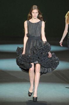 Christian Siriano at New York Fashion Week Fall 2011