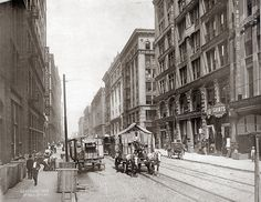 St. Louis, Washington Avenue west from Eighth Street. Photograph by George Stark, 1903. At one time St. Louis's Garment District was second only to New York's as an American center for fashion design and manufacturing.