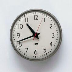 IBM school clock