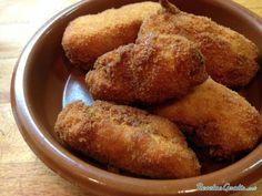 Croquetas de cocido #ComidaEspañola #CocinaEspañola #RecetasEspañolas #SpainFood #Croquetas #Cocido
