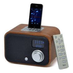 Vers walnut front iphone--write up from CES 2013 Coverage Ipod Dock, Digital Trends, Industrial Design, Apple Watch, Smart Watch, Clock, Technology, Lights, Iphone