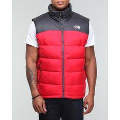 a0628913a0d7 The North Face - Men Nuptse 2 Vest - Red