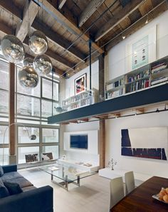 The Striking Oriental Warehouse Loft By Edmonds + Lee Architects Is A  Modern Architectural Residence In The South Beach Neighborhood Of San  Francisco.