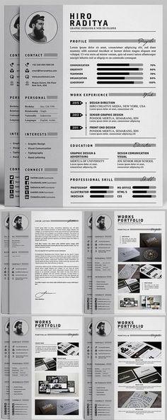 Portfolio templates - How to Design the Right Kind of Web Design Portfolio For Your Business – Portfolio templates Webdesign Portfolio, Portfolio Resume, Web Portfolio, Modern Resume Template, Resume Template Free, Free Resume, Free Cv Template, Free Professional Resume Template, Essay Template