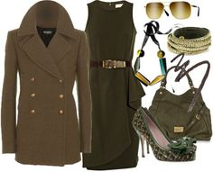 ShopStyle: Color of Fashion #102: Army Green by HarperLeo