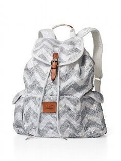 This statement-making Backpack from Victoria's Secret PINK has got your back. It's the must-have bag: supercute on (and off) campus with extra pockets to keep all your essentials safe.