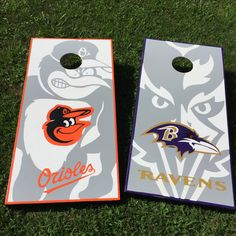 Baltimore Ravens Cornhole Boards 100 Hand Painted Www