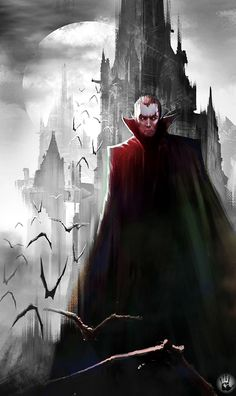I am Strahd – Dungeons and Dragons fan art by Felix Ortiz.