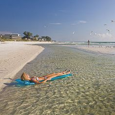 Surrounded by the Gulf of Mexico, Tampa Bay, and the Intracoastal Waterway, Anna Maria Island is an easy 1 1/2-hour drive from Tampa. It's only 7 1/2 miles long and less than a mile wide. It boasts not a single towering condo. (No building over three stories is allowed.) The restaurants are delightfully local and extremely good, with few chain restaurants to be found. In other words, you've stepped back into the Florida of decades ago.