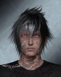 NightysWolf Noctis Zombie Final Fantasy XV