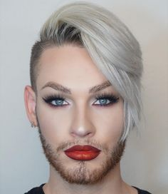 17 Stunning Men With Eyeliner Better Than Yours - Man Fashion Men Wearing Makeup, Male Makeup, Beauty Makeup, Men With Makeup, Makeup Geek, Top Beauty, Flawless Makeup, Gorgeous Makeup, Beauty Nails