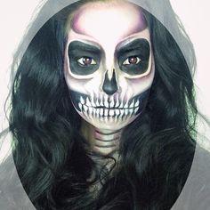 skull - lauramakeup