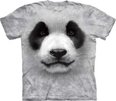Koszulka z pandą Big Face Panda - Koszulka The Mountain - www.veoveo.pl