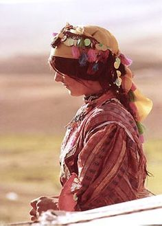"""Tribal Woman. Iran. Coco Chanel: """"Fashion is not something that exists in dresses only. Fashion is in the sky, in the street, fashion has to do with ideas, the way we live, what is happening."""""""