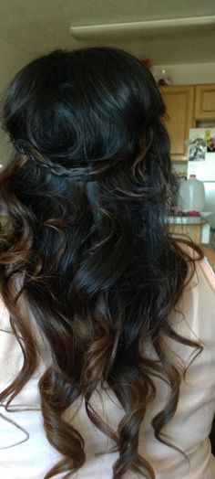 Brown Hair Ombre. Thinking about this for my hair