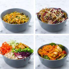 Spiralizer Meals 4 Ways | https://lomejordelaweb.es/ Pinterest ^^ | https://pinterest.com/Ilovecocinar/