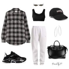 Image in outfits 7 collection by vodkabitchess Cute Lazy Outfits, Chill Outfits, Teenage Outfits, Cute Casual Outfits, Sporty Outfits, Mode Outfits, Retro Outfits, Korean Outfits, Clueless Outfits