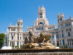 Plaza de Cibeles, Madrid #Spain #Madrid #LearnSpanish