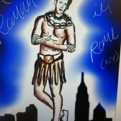 A roman in new York