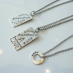 Mother's Day Charm necklaces at Nan Lee Jewelry.