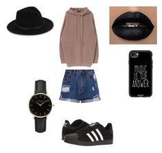 """""""Untitled #3"""" by relu-a on Polyvore featuring adidas, Casetify, ROSEFIELD and Saks Fifth Avenue"""