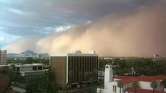 Dust Storm Envelops Phoenix