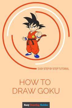 Learn to draw Goku from Dragon Ball. Kids and beginners alike can now draw a great looking Goku. Easy Drawing Steps, Step By Step Drawing, Drawing Tips, Drawing Ideas, Goku Drawing, Comic Drawing, Thundercats Cartoon, Dbz Drawings, Kid Goku