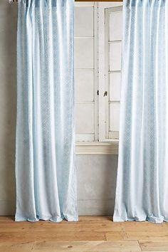 Quadrille Curtain - anthropologie.com