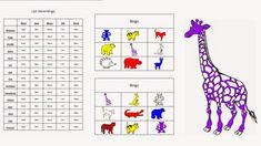 Miranda's lesmaterialen : dierenbingo voor groep 1 en 2