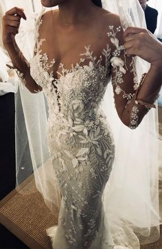 53 Elegant lace long sleeve wedding dresses ,long sleeve wedding dress lace, long-sleeved wedding dresses,Winter wedding gown Popular 2019 Summer Beach Wedding Dresses Off The Shoulder A-line Lace Tulle Bridal Gowns Most Beautiful Wedding Dresses, Long Wedding Dresses, Designer Wedding Dresses, Bridal Dresses, Princess Wedding Dresses, Dress Wedding, Bride Gowns, Modest Wedding, Detailed Wedding Dresses