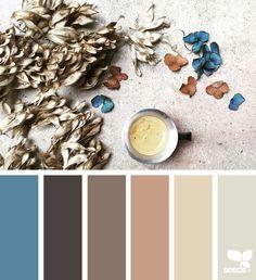 { color arrange } - https://www.design-seeds.com/slow-lifestyle/rustic/color-arrange