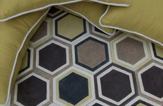 popham design :: cement tiles :: handmade in morocco, Pattern: Honeycomb Hex, Color: Multi Informations About popham design :: cement tiles :: handmade in morocco, Pattern: Honeycomb Hex, C. Pin You Floor Patterns, Tile Patterns, Bathroom Floor Tiles, Tile Floor, Hex Tile, Hexagon Tiles, Moroccan Tiles, Moroccan Lanterns, Turkish Tiles