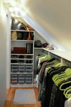 Under stairs storage