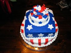 Pin 4th Of July Cupcake Gallery 02 Cake On Pinterest