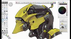 sketchbook pro - speed draw