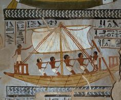Tomb of Sennefer TT96 - Thebes West (Upper Egypt), Sheikh Abd el-Qurna, (New Kingdom, 18th dynasty, reign of Amenhotep II, c. 1410 BC).