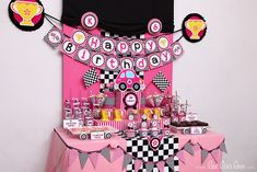 Sweet Race Car Birthday Party