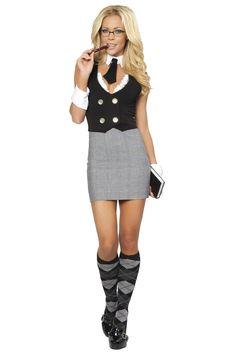 Librarian Costume, Sexy Librarian Costume for Women #sexyschoolgirl #schoolgirluniform #halloweencostume #sexyteacher #sexycostume