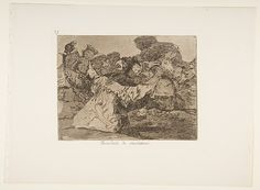 Goya (Francisco de Goya y Lucientes) | Plate 75 from 'The Disasters of War' (Los Desastres de la Guerra): 'Charlatan's Show' (Farándula de charlatanes.) | The Met