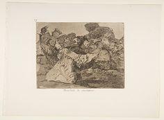 Goya (Francisco de Goya y Lucientes) | Plate 75 from 'The Disasters of War' (Los Desastres de la Guerra): 'Charlatan's Show' (Farándula de charlatanes.) | The Met