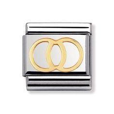 Buy Nomination Composable Classic Wedding Rings Charm at Hugh Rice Jewellers. Free delivery on Nomination.