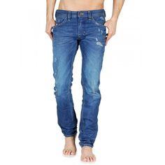 60cfaab9 Diesel Thavar 0801C Slim-Skinny Jeans on Sale at Designer Man Man Jeans,  Diesel