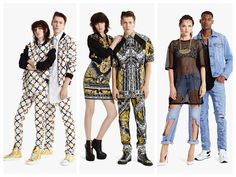 God Save the Queen and all: Versus Versace Spring/Summer 2015 Lookbook #versus #versace #ss15 #lookbook