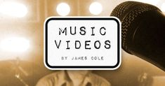 A collection of music videos created with James Cole Long Time Ago, Filmmaking, Light In The Dark, Letting Go, Music Videos, Student, Reading, Words, Creative